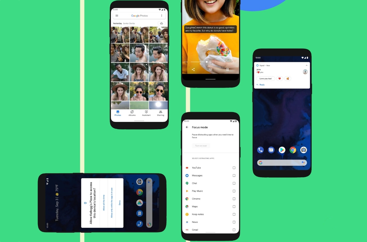 Android 10 Devices Header