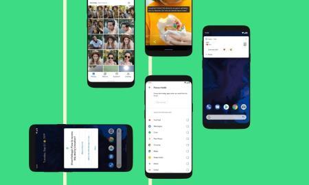 Android 10 Seite Header