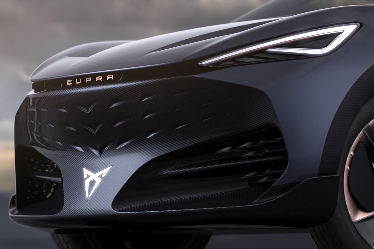 Cupra Tavascan Electric Concept 09 Hq
