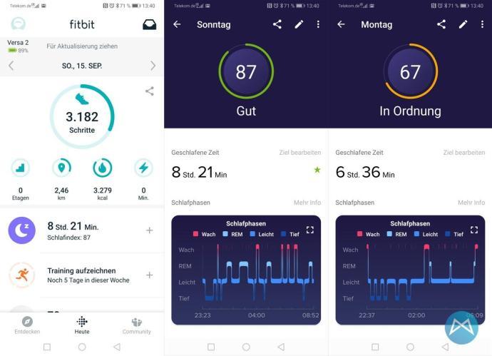 Fitbit Versa 2 App