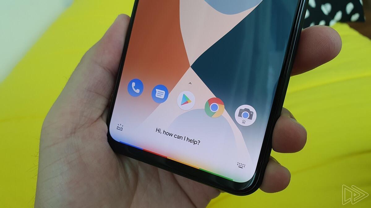 Google Pixel 4 Assistant