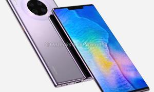 Huawei Mate 30 Pro Render3