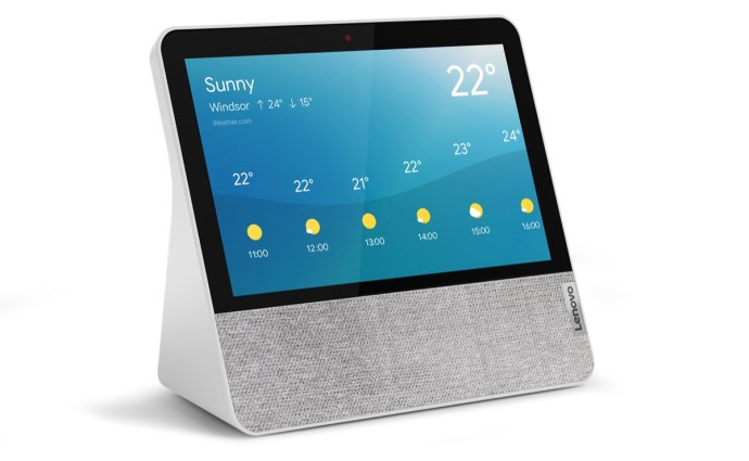 Lenovo Smart Display 7 Front Facing Right