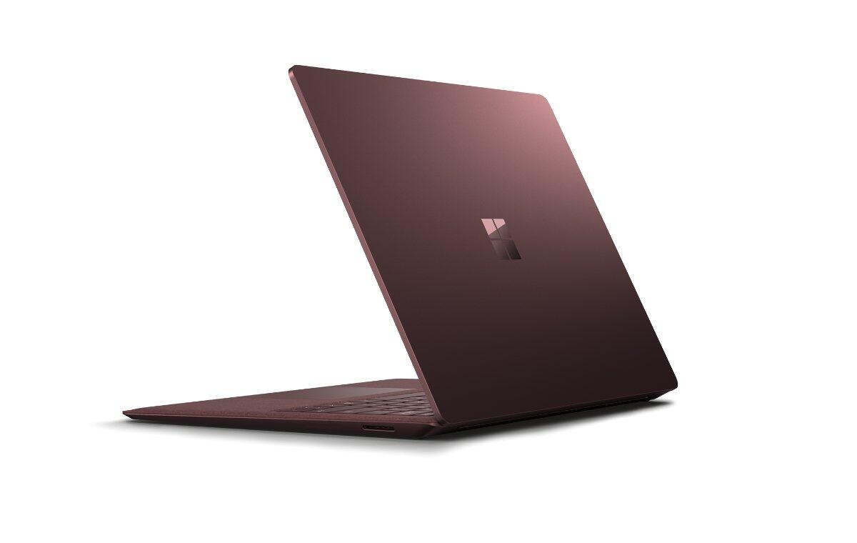 Microsoft Surface Laptop Header