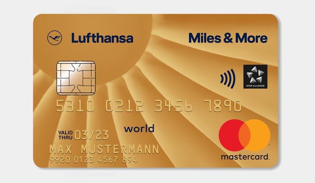 Milesandmore Kreditkarte Lufthansa
