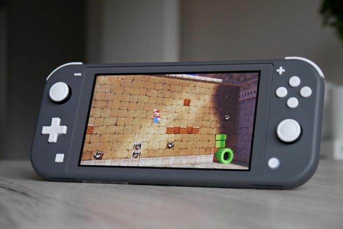 Nintendo Switch Lite Mario Odyssey Header