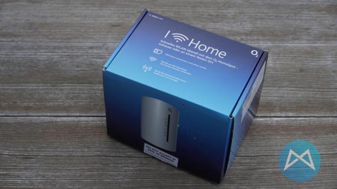 O2 Homespot Verpackung