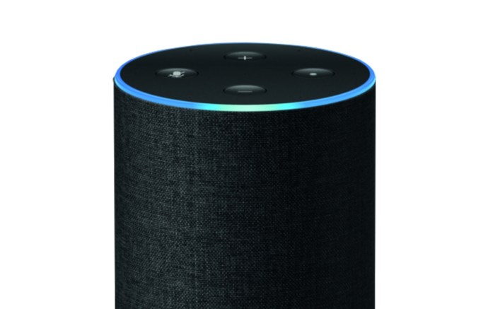 Amazon Alexa Echo Header