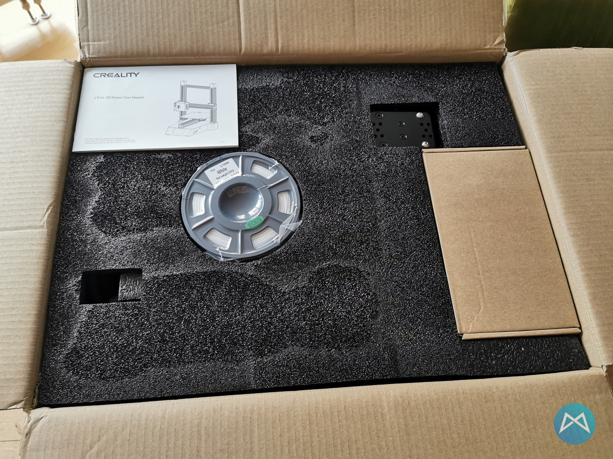 Creality Cp 01 Unboxing 1