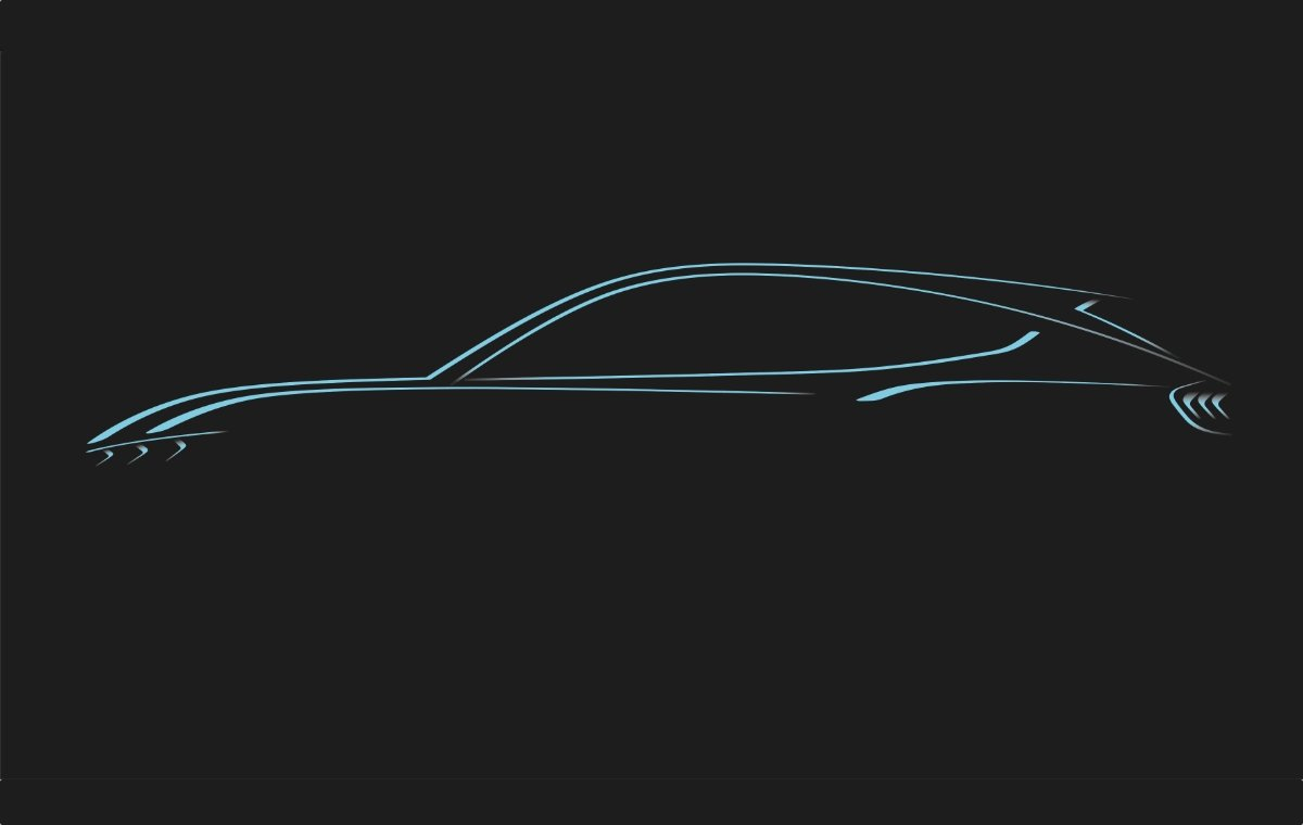 Ford Mustand Elektro Teaser