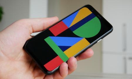 Google Pixel 4 Hand Header
