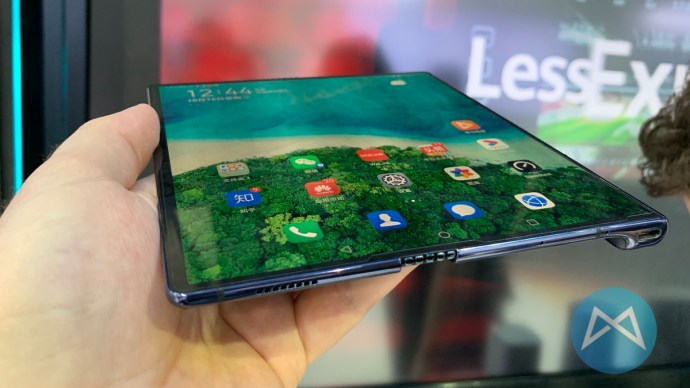 Huawei Mate X Displayfalte