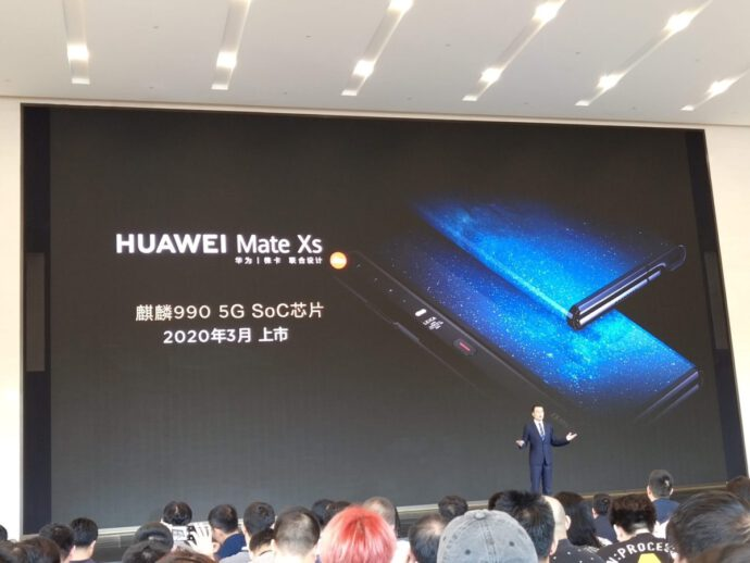 Huawei Mate Xs Event