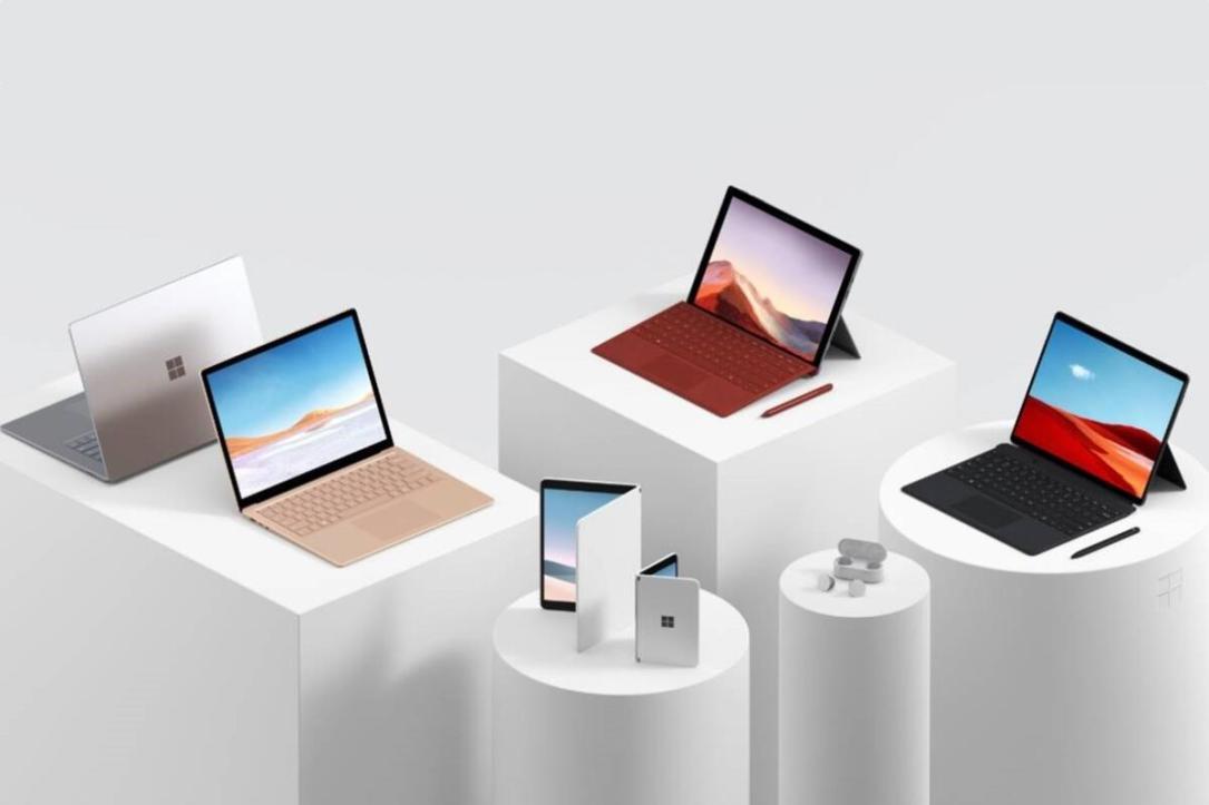 Microsoft Surface 2019 Header