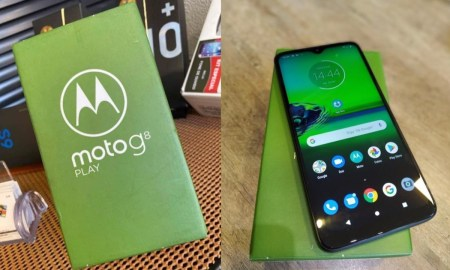 Moto G8 Play Box Leak