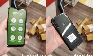 Moto G8 Play Leak