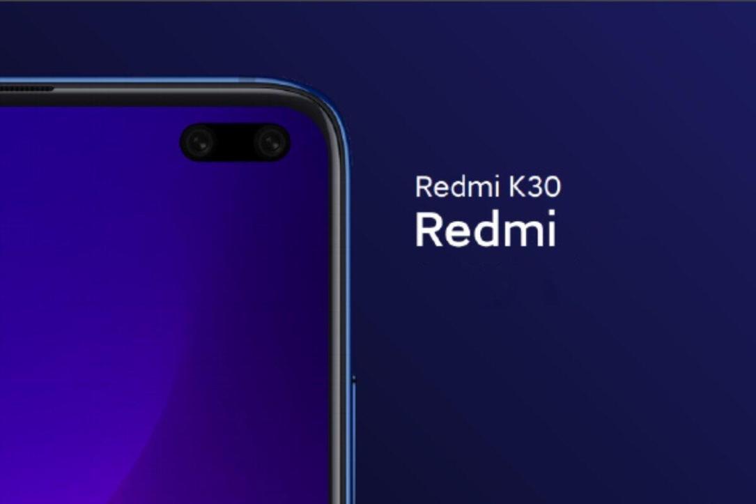 Redmi K30 Loch Display
