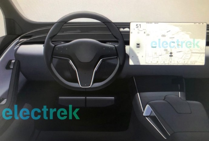 Tesla Display Konzept