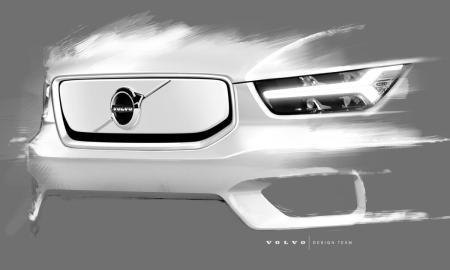 Volvo Xc40 Elektro Front