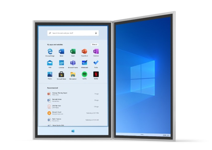 Windows 10x Header