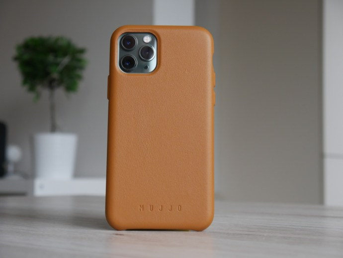 Apple Iphone 11 Pro Mujjo Leder Case Braun