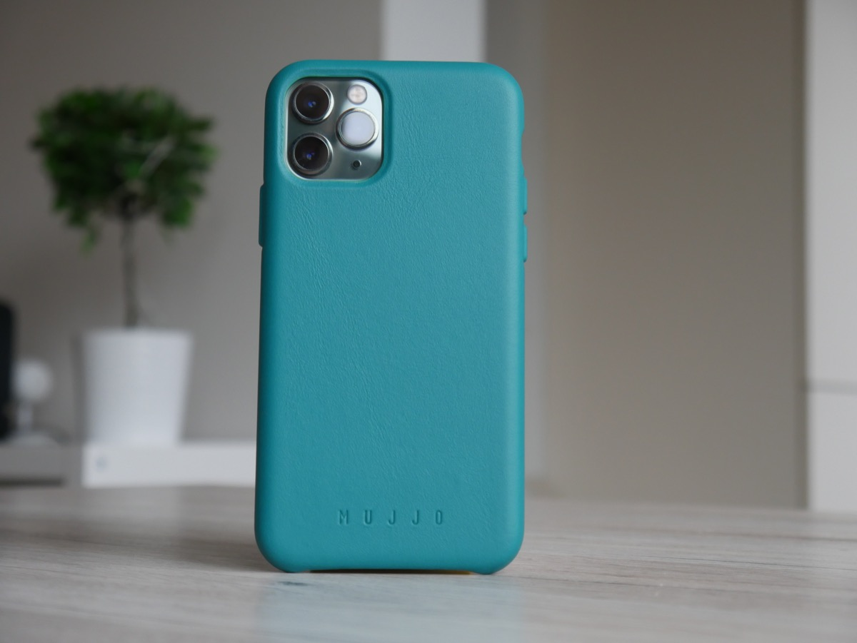 Apple Iphone 11 Pro Mujjo Leder Case Gruen