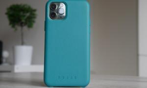 Apple Iphone 11 Pro Mujjo Leder Case Gruen