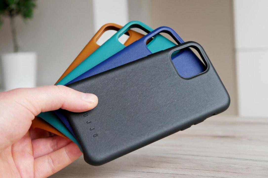 Apple Iphone 11 Pro Mujjo Leder Case Header