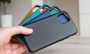 Apple Iphone 11 Pro Mujjo Leder Case Header