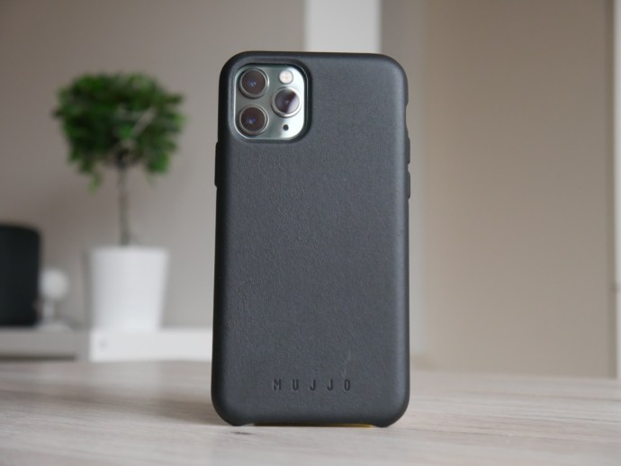 Apple Iphone 11 Pro Mujjo Leder Case Schwarz