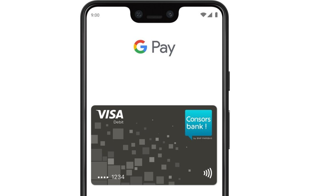 Consorsbank Visa Google Pay