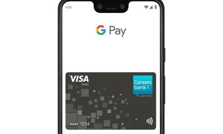Consorsbank Visa Google Pay