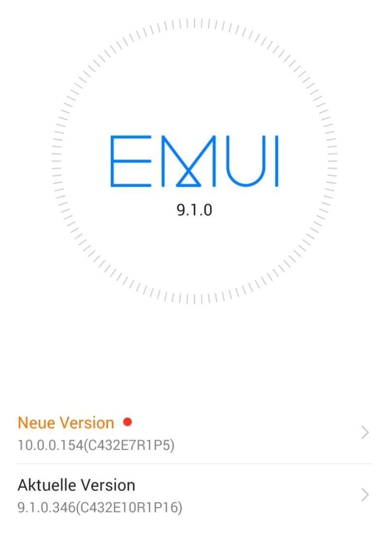 Emui 10 Screen Mate 20 Pro