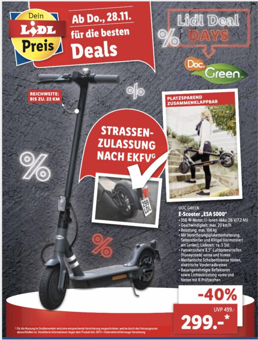 Lidl Escooter