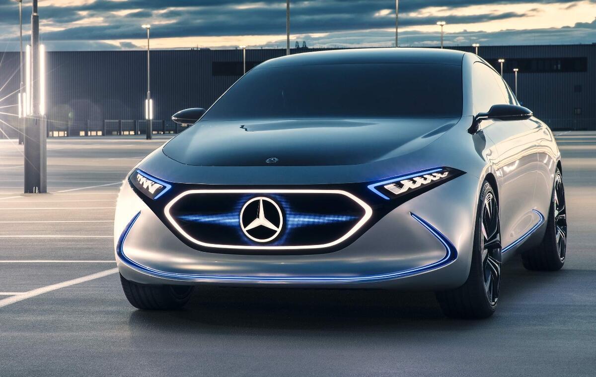 Mercedes Benz Eqa Header