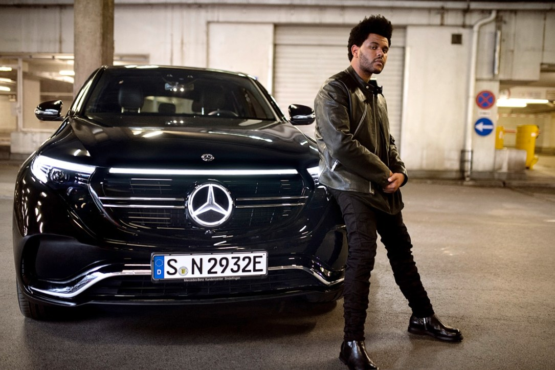 """enjoy Electric."" – Die Kampagne Zum Mercedes Benz Eqc: Eine Neue Ära Der Mobilität Mit Weltstar Und Creative Director The Weeknd ""enjoy Electric."" – The Campaign For The Mercedes Benz Eqc: A New Era Of Mobility With Global Star And Creative Dir"