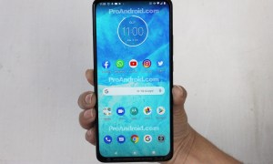 Motorola One Hyper Leak Front