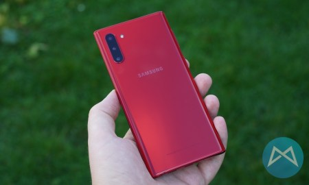 Samsung Galaxy Note Aura Red