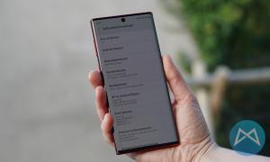Samsung Note 10 5g Software Info