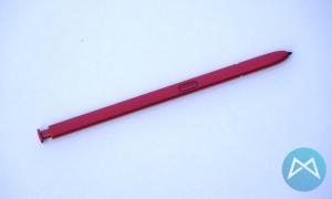 Samsung Note 10 Aura Red Pen