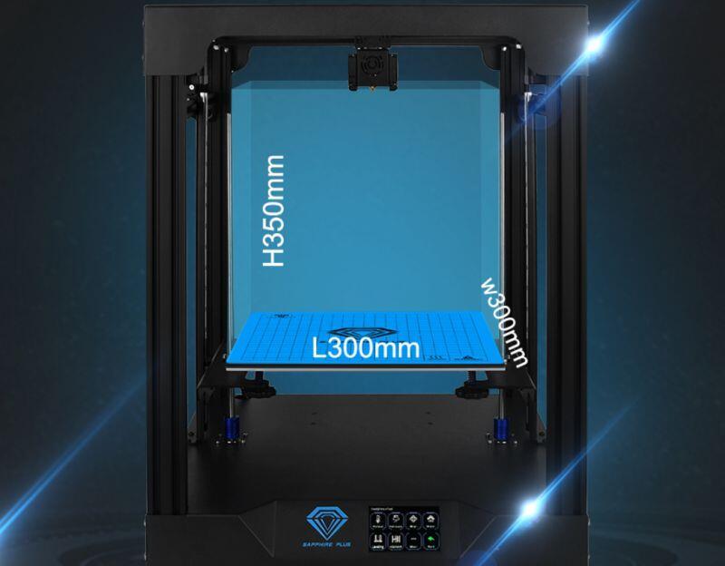 Sapphire Plus 3d Drucker