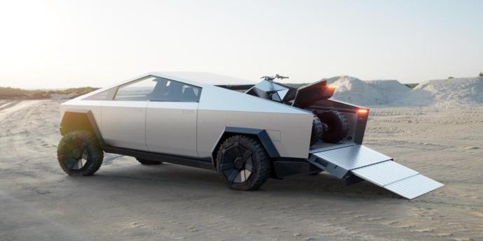 Tesla Cybertruck Bild5