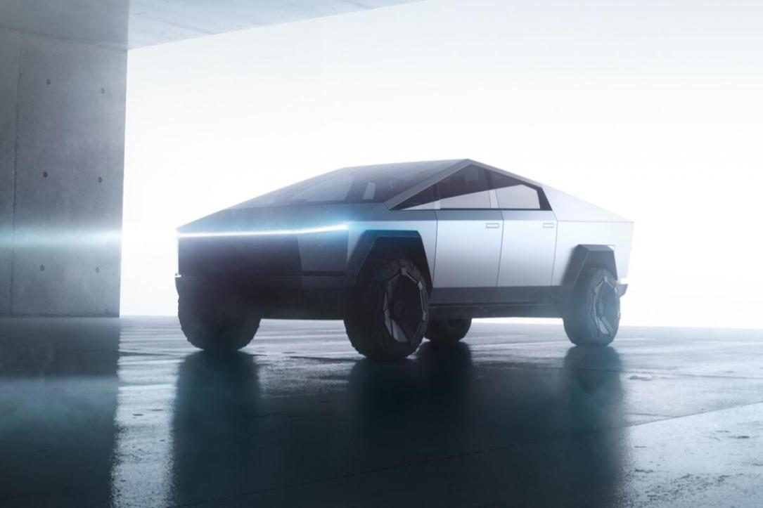Tesla Cybertruck Header