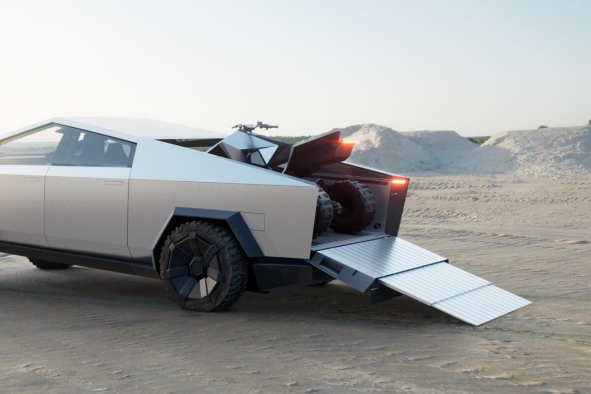 Tesla Quad Atv Cyberquad