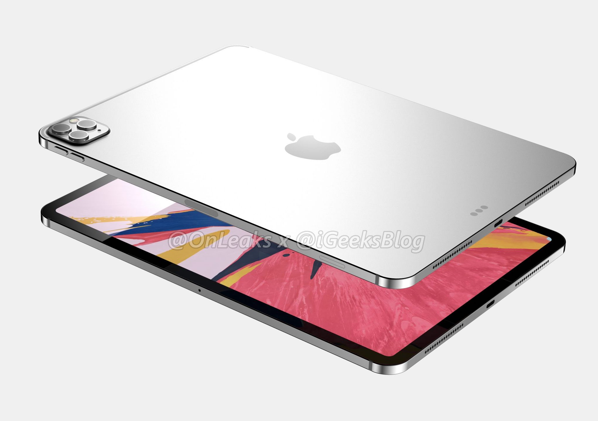 2020 11 Inch Ipad Pro With Metal Back
