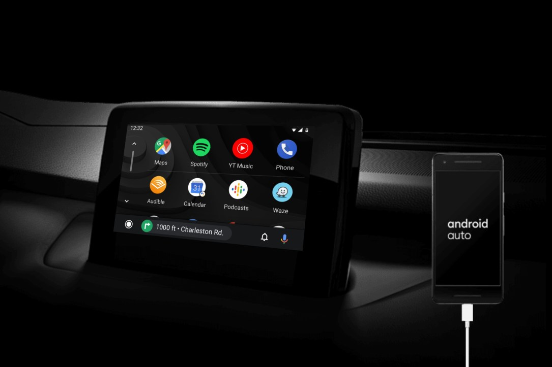 Google Android Auto Header
