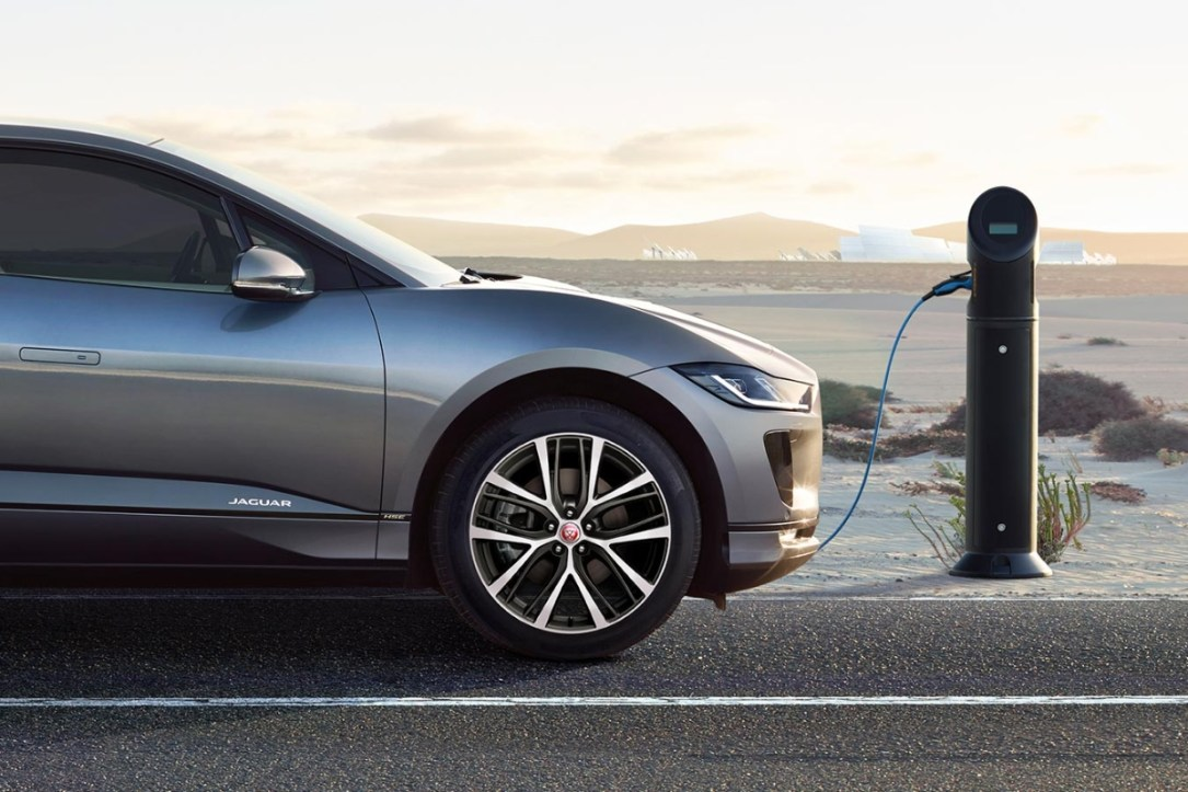 Jaguar I Pace Header