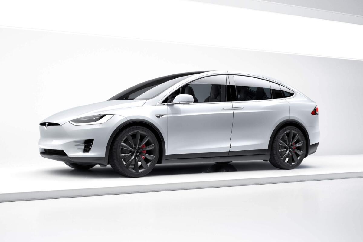 Model X Tesla Header