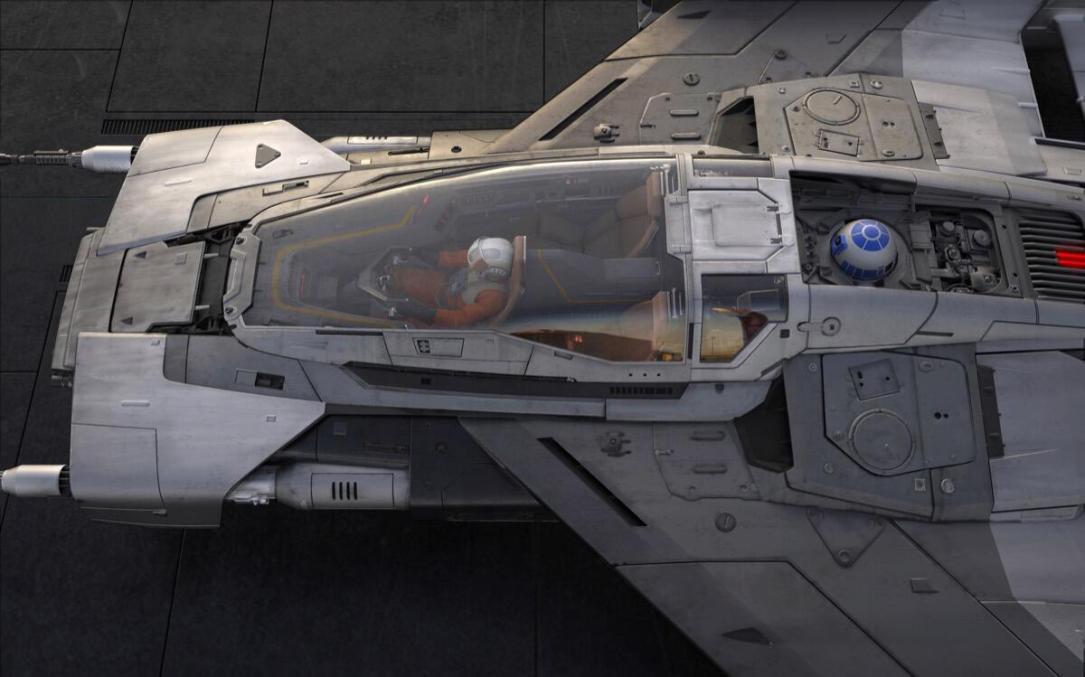 Porsche Star Wars Konzept1