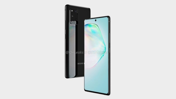 Samsung Galaxy A91 Render Leak1